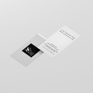 Catherine business cards